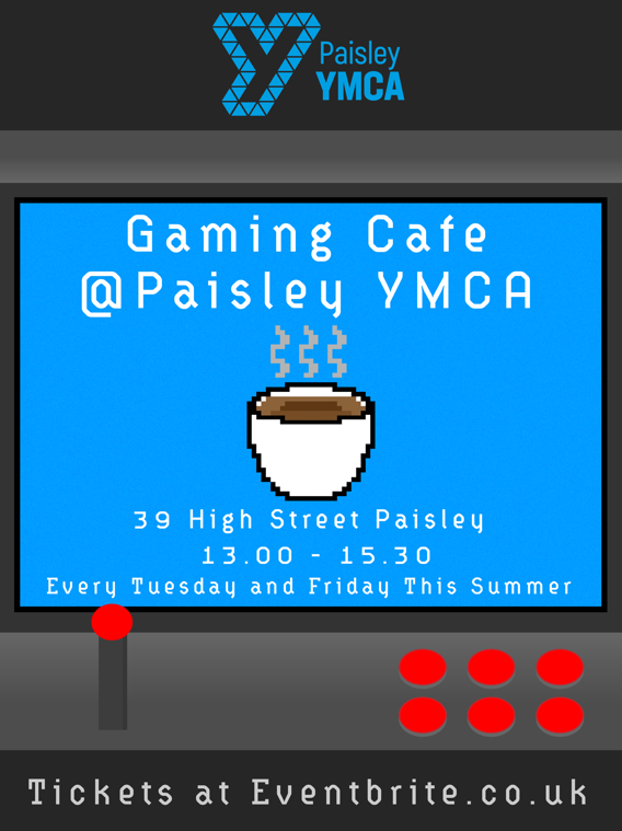 Summer Gaming Cafe – Event