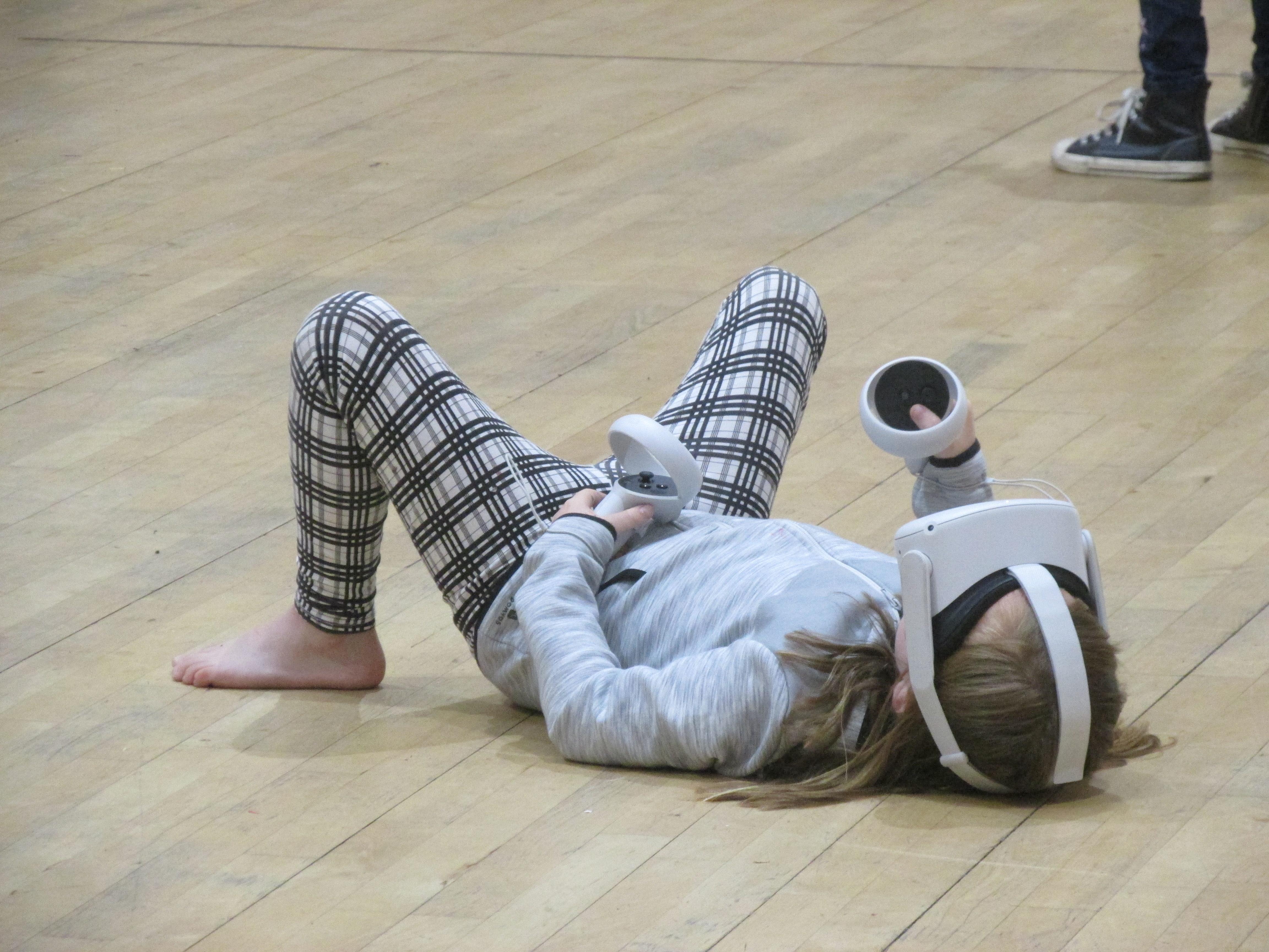 Bringing Virtual Reality to Paisley! 🎧